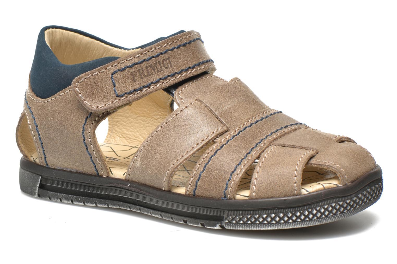 Sandales et nu-pieds Primigi Jog 1-E Marron vue détail/paire