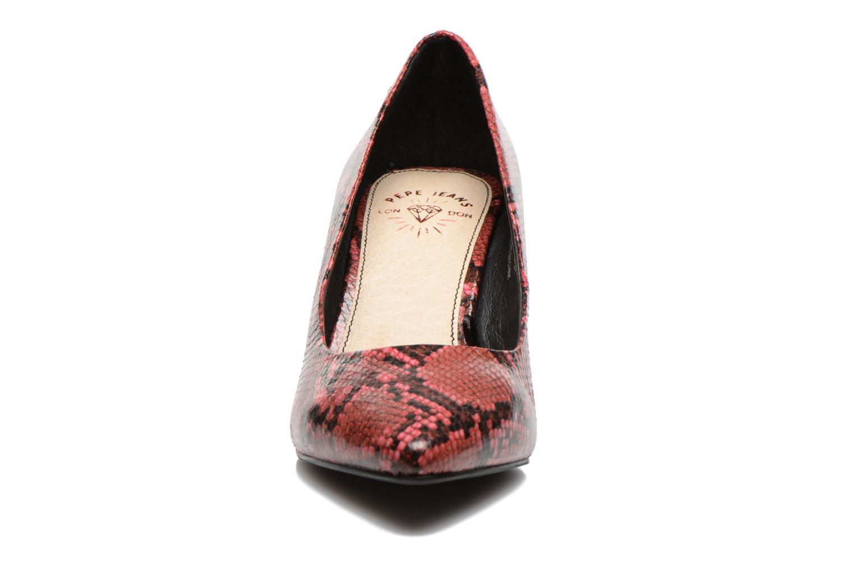 Escarpins Pepe jeans Megan Bordeaux vue portées chaussures