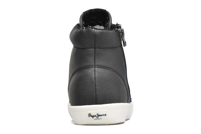Botines  Pepe jeans Parson Negro vista lateral derecha