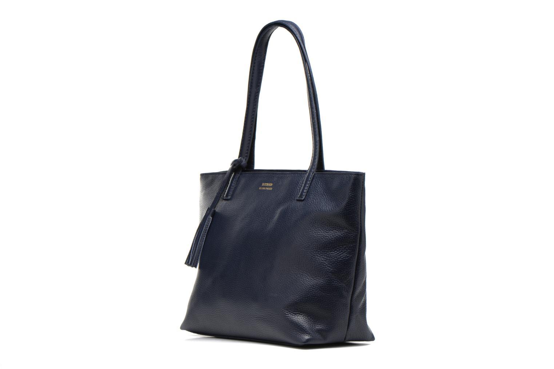 Bolsos de mano Loxwood Eden zippé Azul vista del modelo