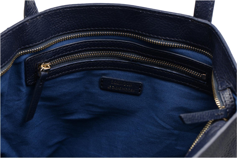 Sacs à main Loxwood Eden zippé Bleu vue derrière