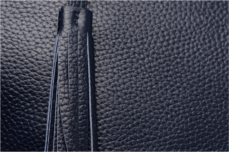 Sacs à main Loxwood Eden zippé Bleu vue gauche
