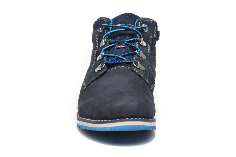 Stiefeletten & Boots Timberland Rollins Ford blau schuhe getragen