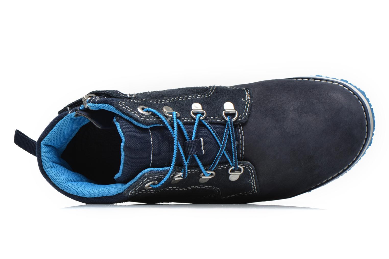 Bottines et boots Timberland Rollins Ford Bleu vue gauche