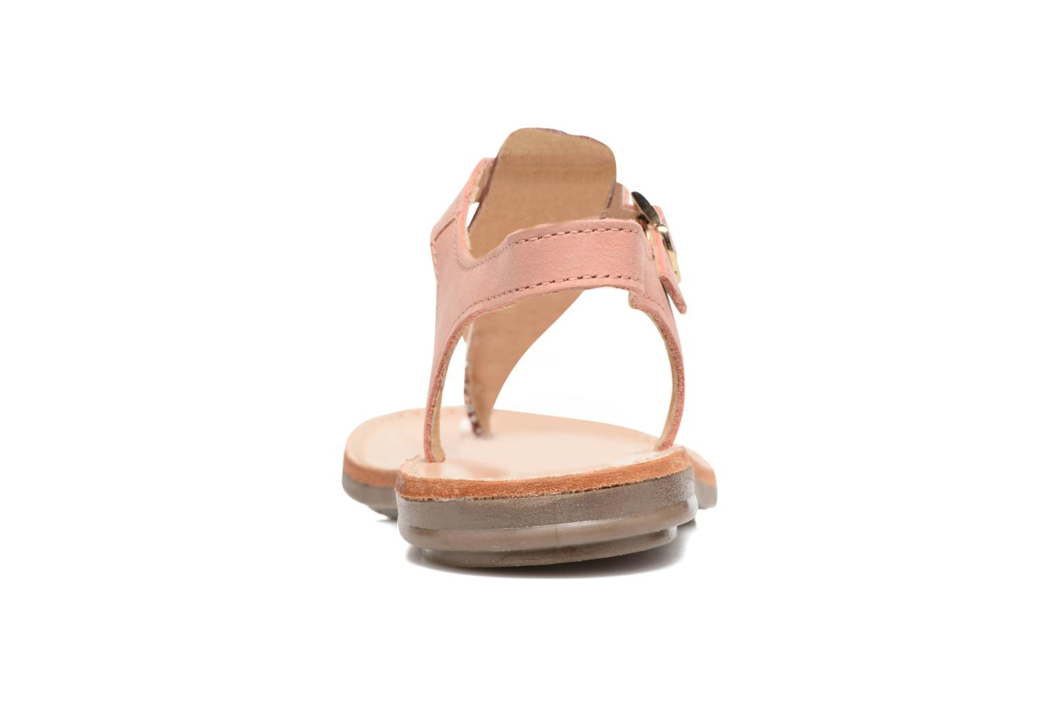 Sandals Minibel Klarice Pink view from the right