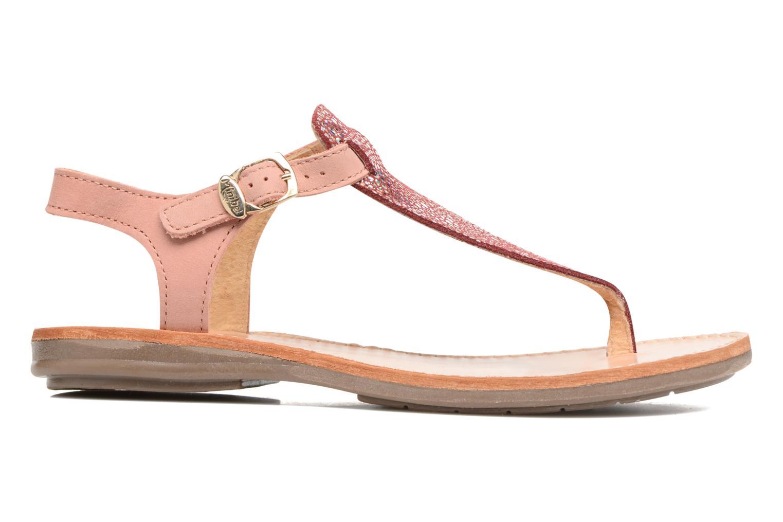 Sandals Minibel Klarice Pink back view