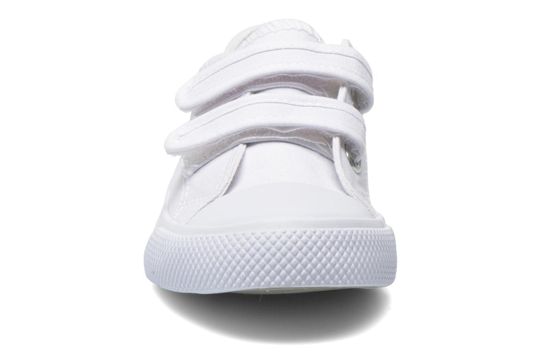 Baskets Minibel Estival Blanc vue portées chaussures