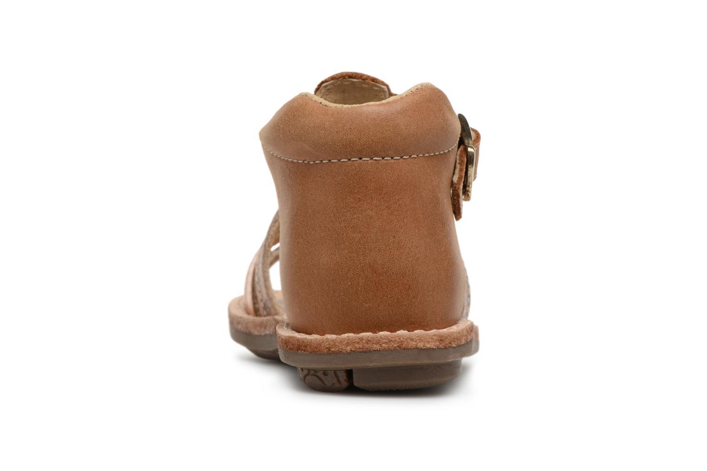 Sandali e scarpe aperte Minibel Keglae Marrone immagine destra