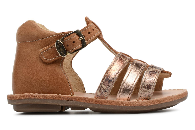 Sandali e scarpe aperte Minibel Keglae Marrone immagine posteriore