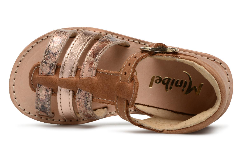 Sandali e scarpe aperte Minibel Keglae Marrone immagine sinistra