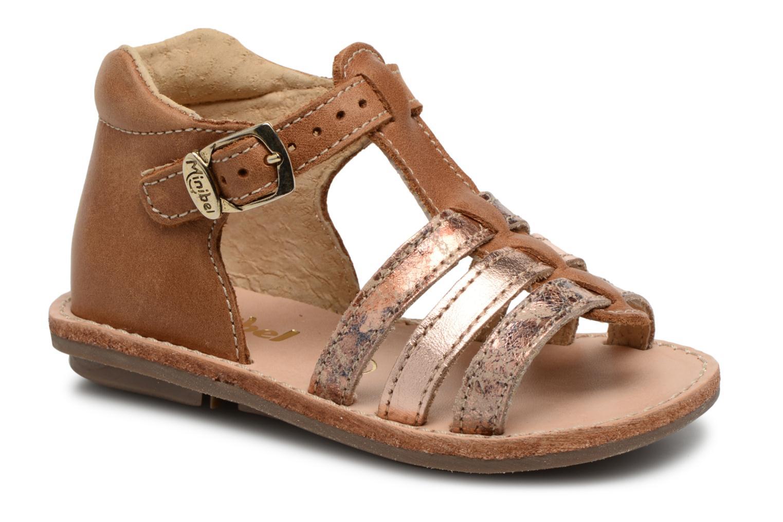Sandali e scarpe aperte Minibel Keglae Marrone vedi dettaglio/paio