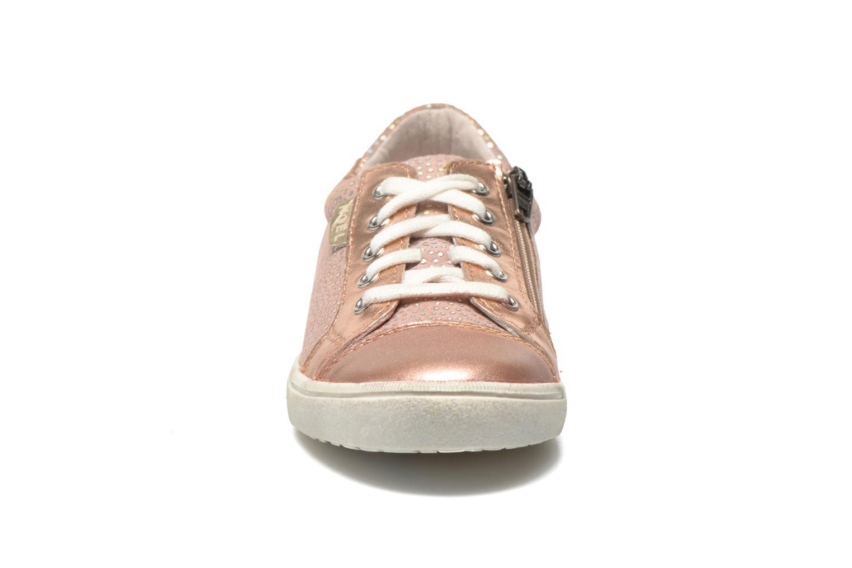 Baskets Noël Java Rose vue portées chaussures