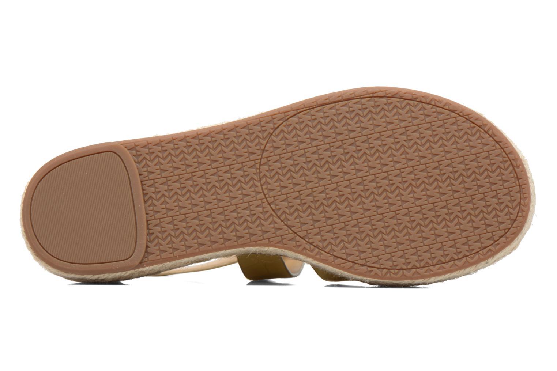 Sandales et nu-pieds Michael Michael Kors Darby Sandal Or et bronze vue haut