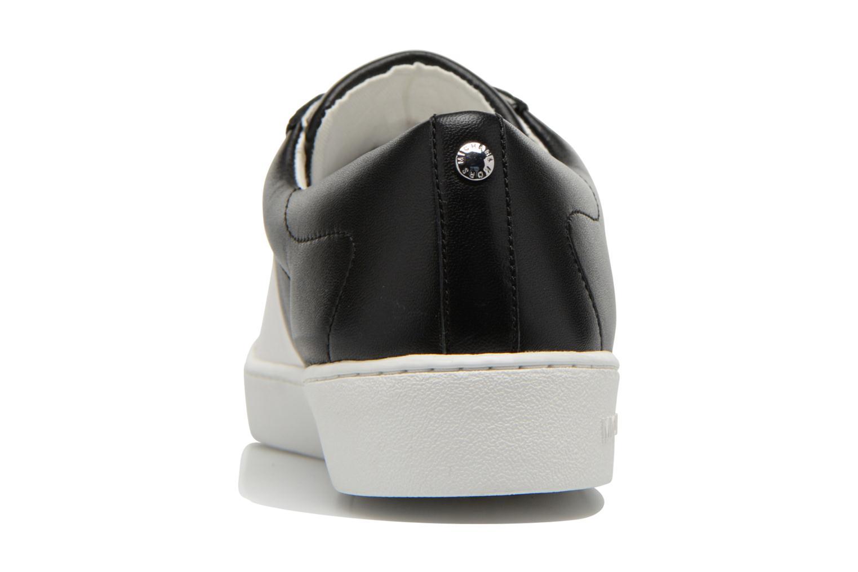 Baskets Michael Michael Kors Toby lace up Blanc vue droite