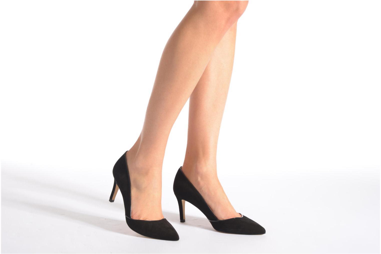 Zapatos de tacón Georgia Rose Fifillotte Negro vista de abajo