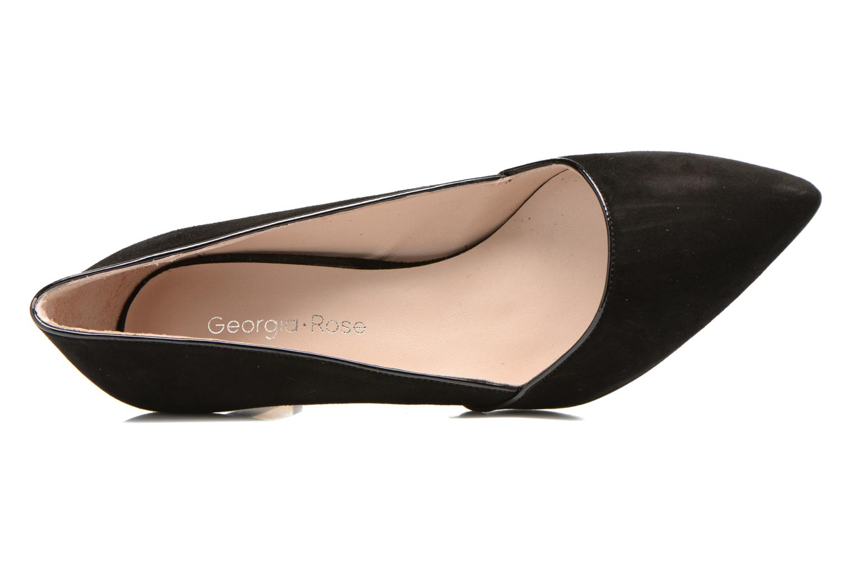 Zapatos de tacón Georgia Rose Fifillotte Negro vista lateral izquierda