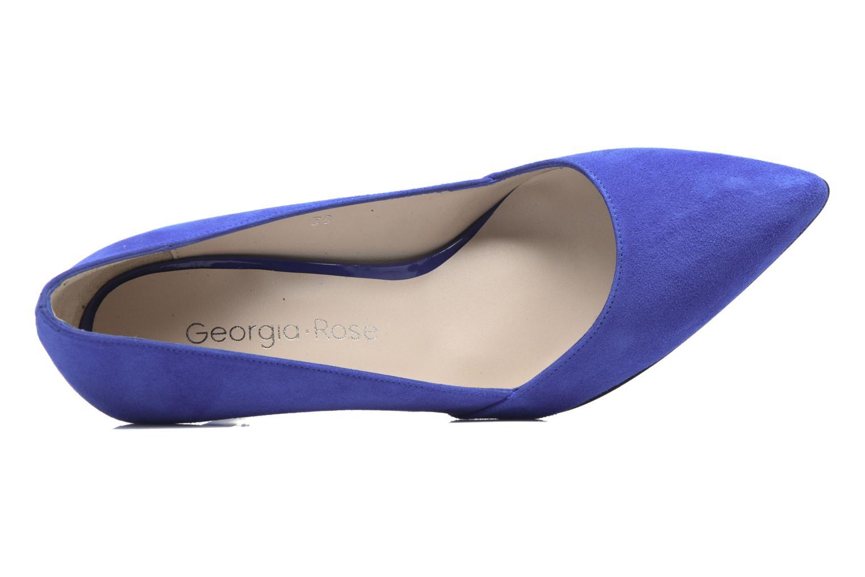 Escarpins Georgia Rose Fifillotte Bleu vue gauche