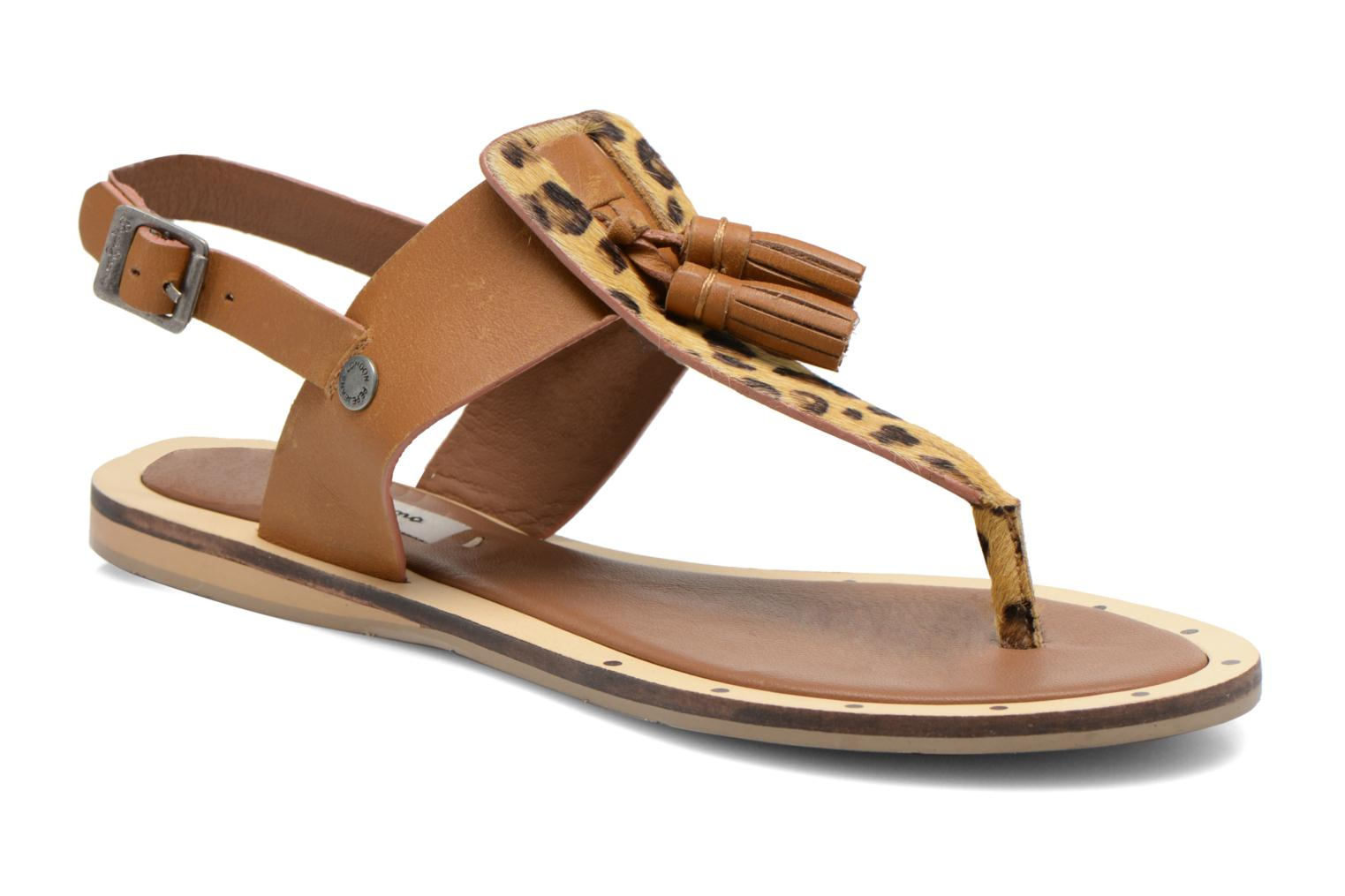 Marques Chaussure femme Pepe jeans femme Gayton Tassels Nut brown