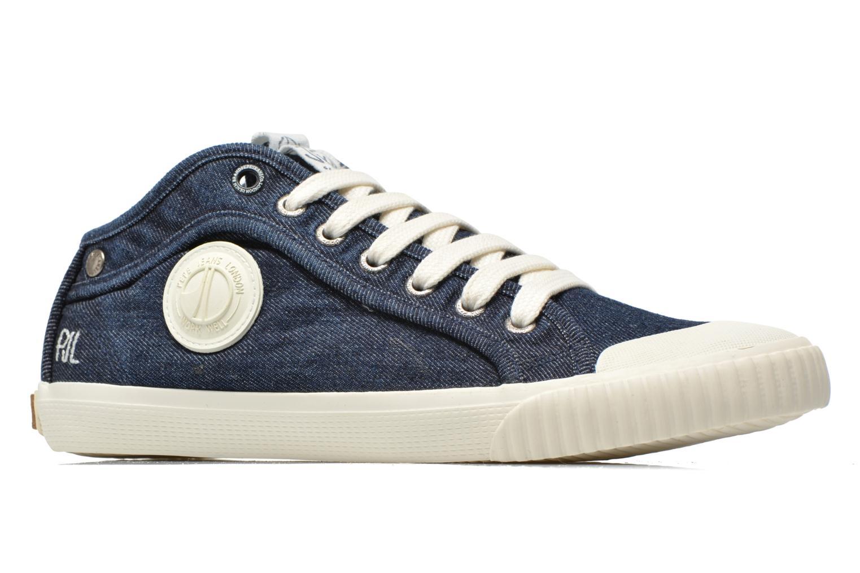 Baskets Pepe jeans Industry Denim Bleu vue derrière