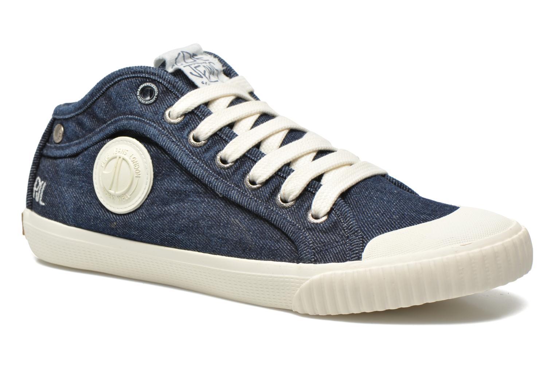 Baskets Pepe jeans Industry Denim Bleu vue détail/paire