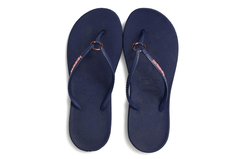 Slippers Havaianas Ring Blauw 3/4'
