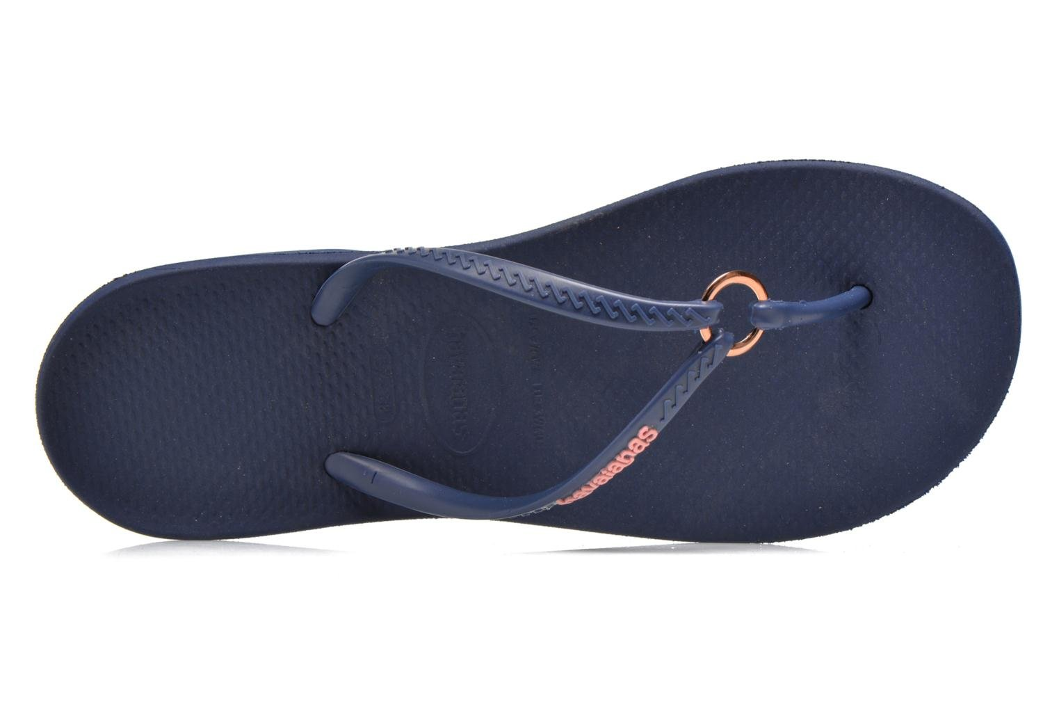 Slippers Havaianas Ring Blauw links