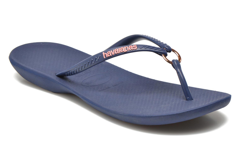 Slippers Havaianas Ring Blauw detail