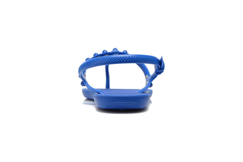 Sandales et nu-pieds Havaianas Freedom Candy Bleu vue droite