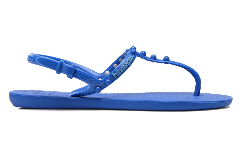 Sandales et nu-pieds Havaianas Freedom Candy Bleu vue derrière