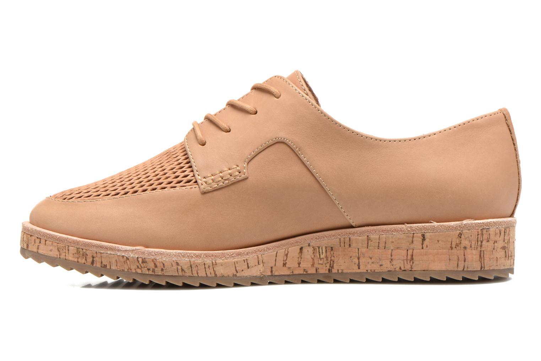 Chaussures à lacets Aldo GATER Beige vue face