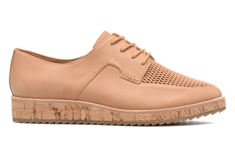 Chaussures à lacets Aldo GATER Beige vue derrière