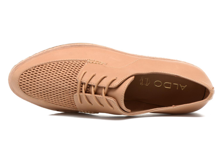 Chaussures à lacets Aldo GATER Beige vue gauche