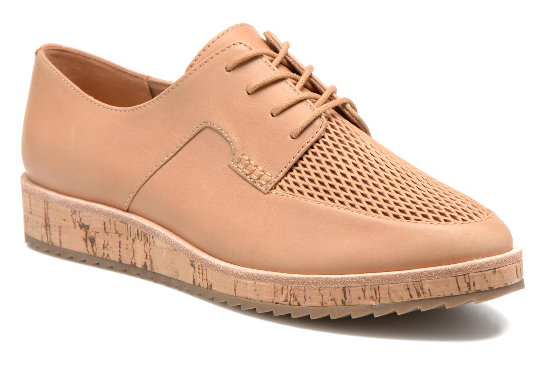 Chaussures à lacets Aldo GATER Beige vue détail/paire