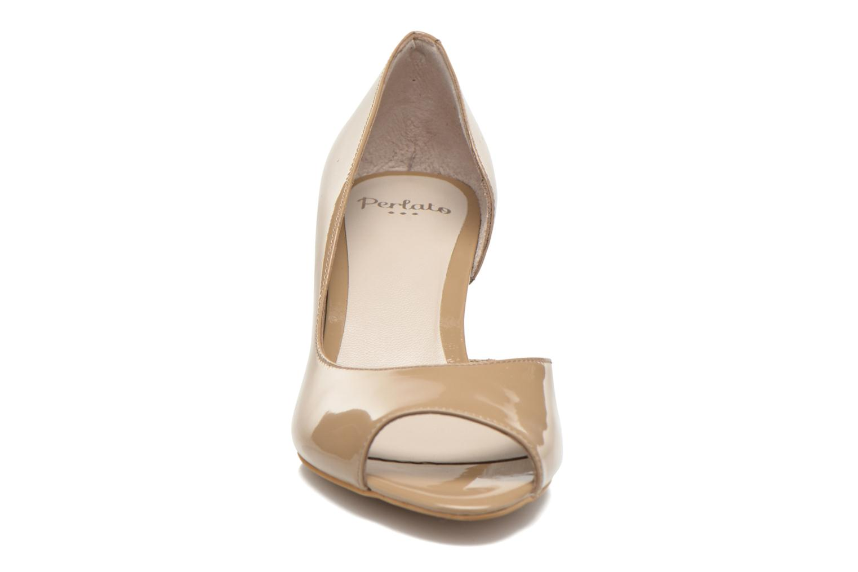 Escarpins Perlato Bilbao Beige vue portées chaussures