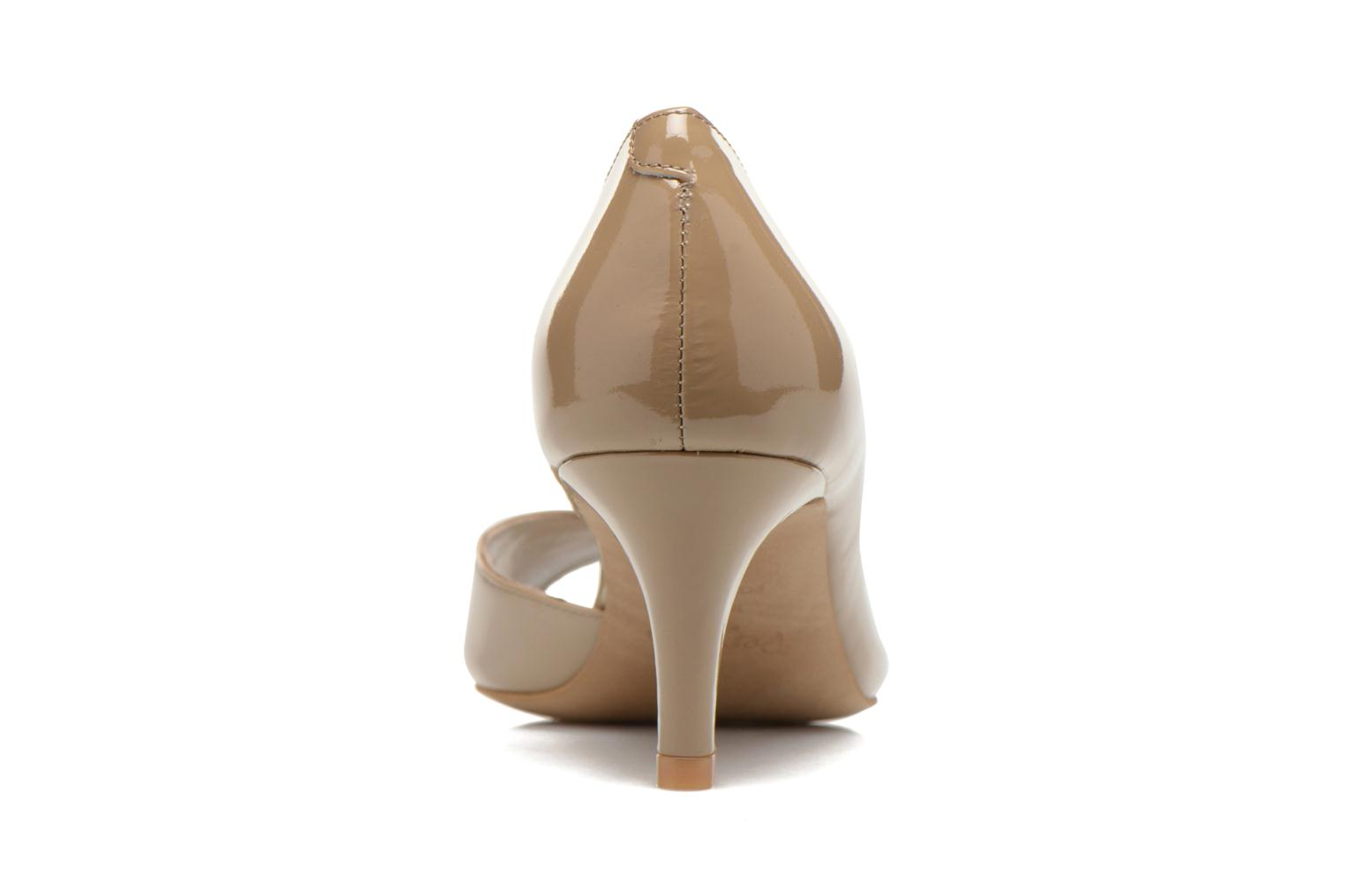 High heels Perlato Bilbao Beige view from the right