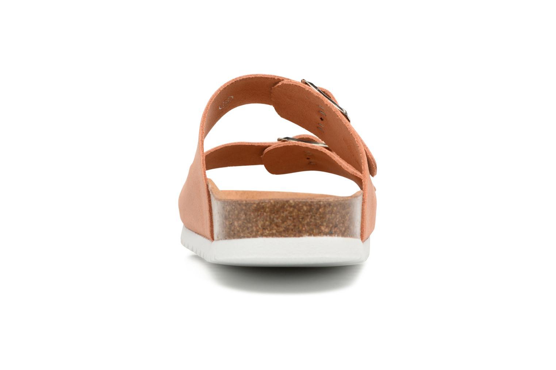 Julia Leather Sandal Shrimp