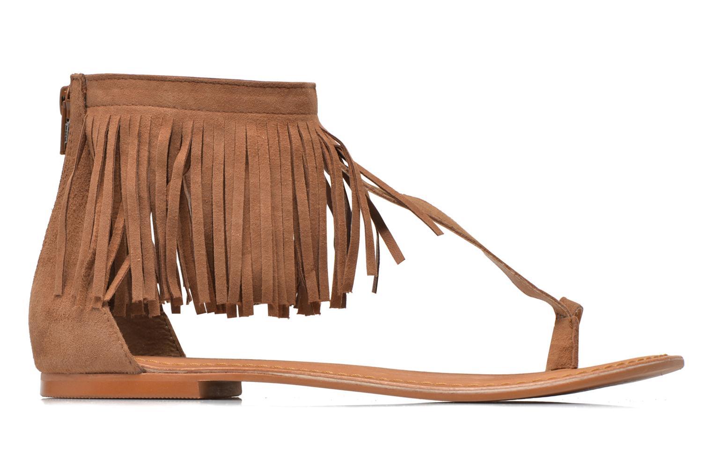 Sandales et nu-pieds Vero Moda VmKate Marron vue derrière