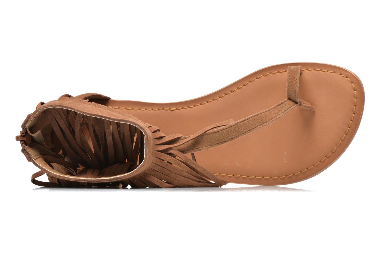 Sandales et nu-pieds Vero Moda VmKate Marron vue gauche