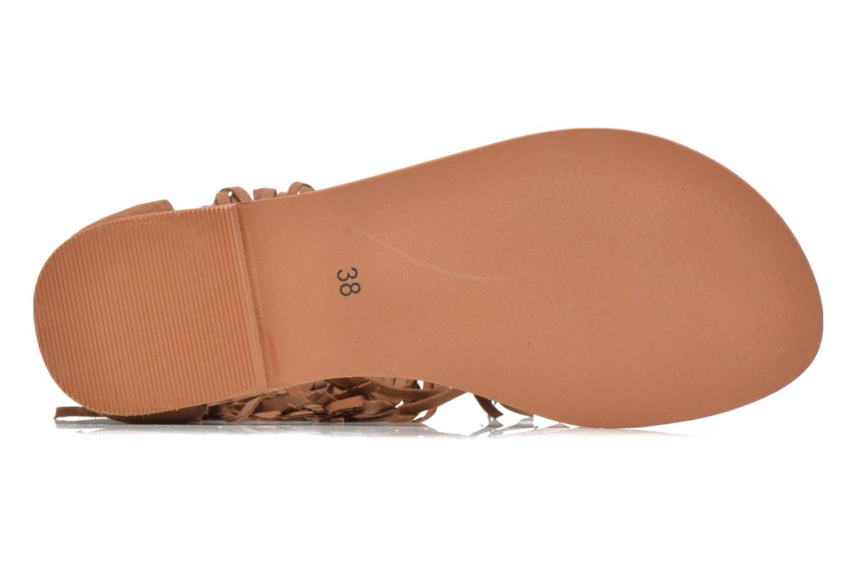 Sandales et nu-pieds Vero Moda VmKate Marron vue haut