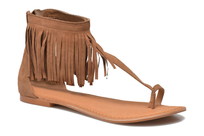 Sandales et nu-pieds Vero Moda VmKate Marron vue détail/paire