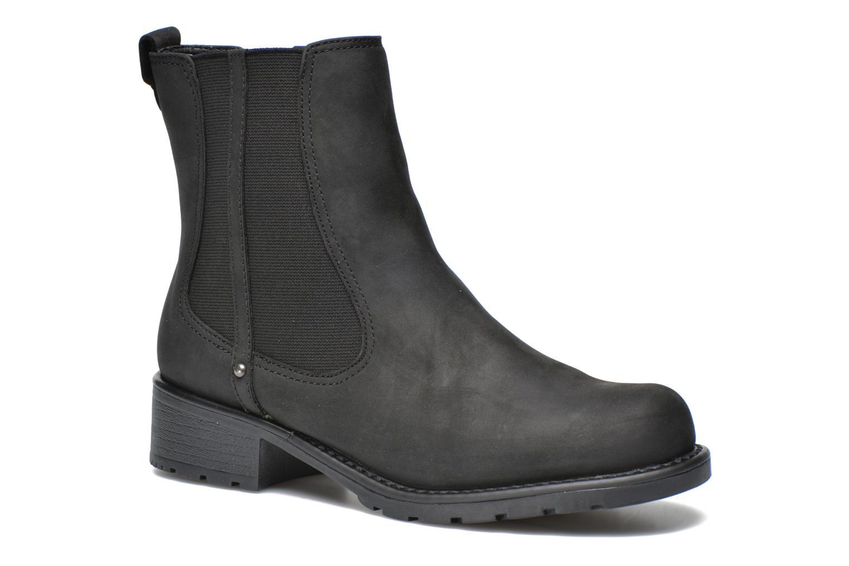 Bottines et boots Clarks Orinoco Hot Noir vue détail/paire