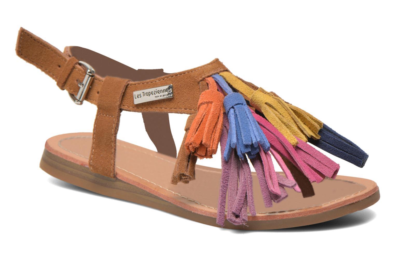 Sandaler Les Tropéziennes par M Belarbi Gorby E Brun detaljeret billede af skoene