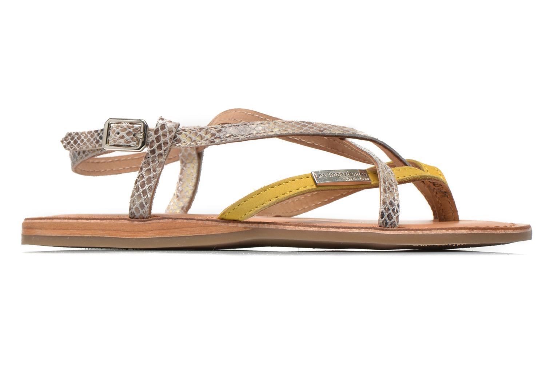 Sandales et nu-pieds Les Tropéziennes par M Belarbi Bonbon Jaune vue derrière