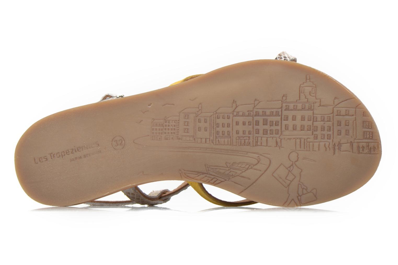Sandales et nu-pieds Les Tropéziennes par M Belarbi Bonbon Jaune vue haut