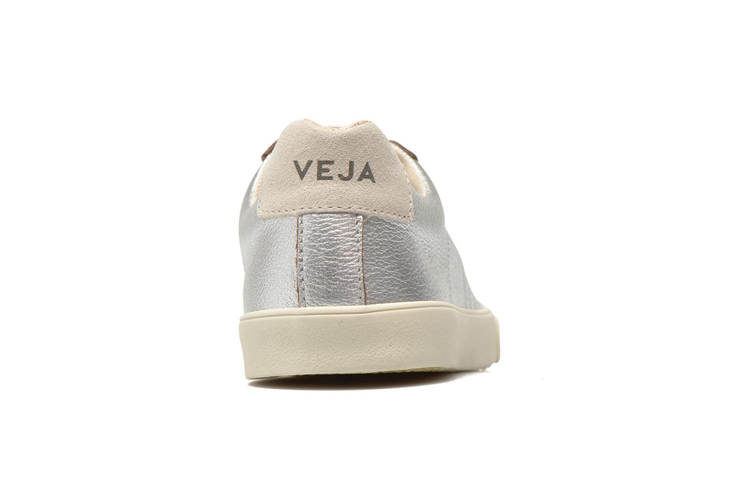 Trainers Veja Esplar Leather Silver view from the right