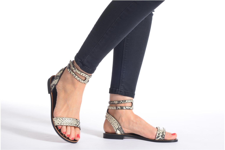 Sandales et nu-pieds Lola Cruz Ebah Multicolore vue bas / vue portée sac