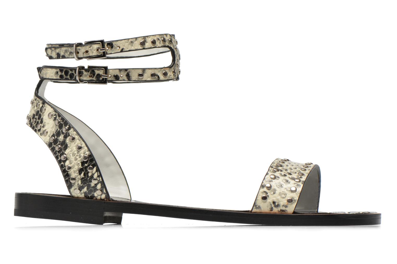 Sandales et nu-pieds Lola Cruz Ebah Multicolore vue derrière