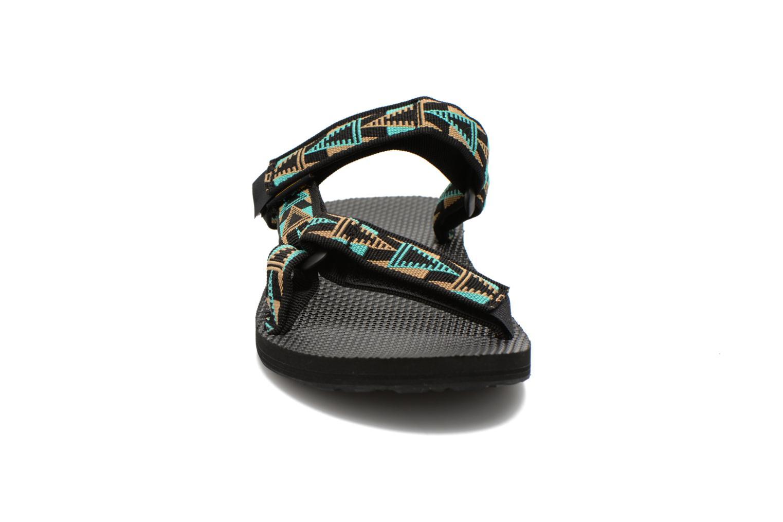 Sandali e scarpe aperte Teva Universal Slide Multicolore modello indossato