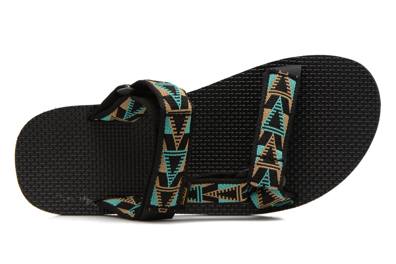 Sandali e scarpe aperte Teva Universal Slide Multicolore immagine sinistra
