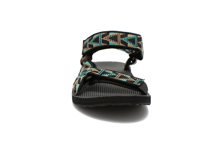 Sandales et nu-pieds Teva Original Universal Mashup Noir vue portées chaussures